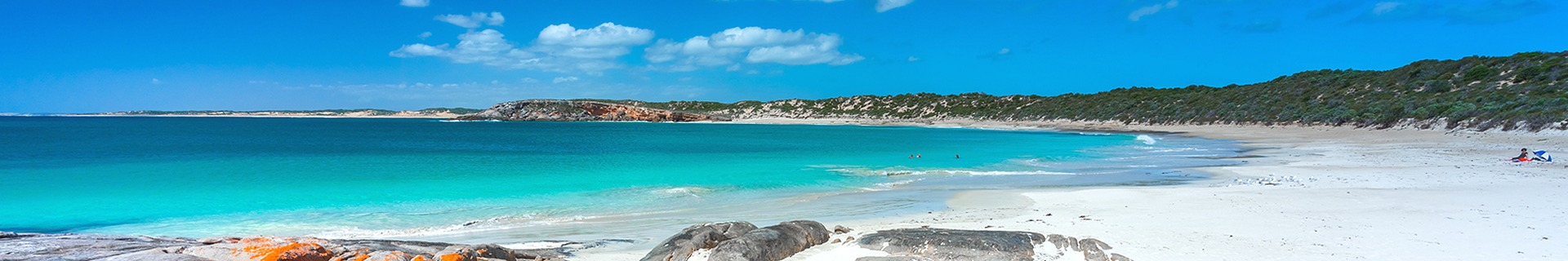 Beautiful beaches close to this accommodation at Yorke Peninsula, South Australia.